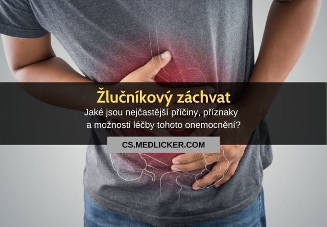 Akutní cholecystitida – příznaky, příčiny a léčba
