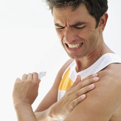 Bolest ramenou ze sportu – volejbal