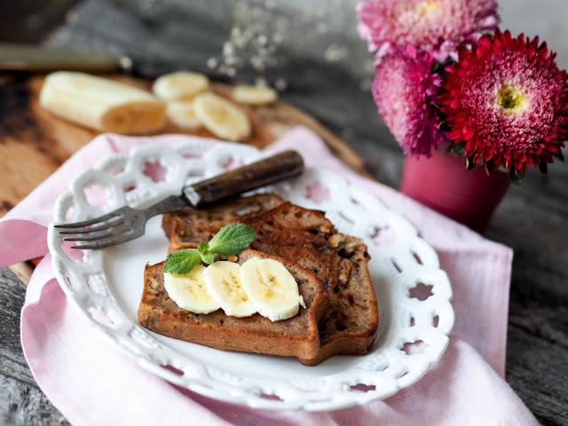 Banánový chlebíček – recept na tuto zdravou dobrotu