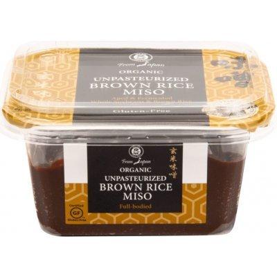Miso pasta– čím je tmavší, tím má výraznější chuť