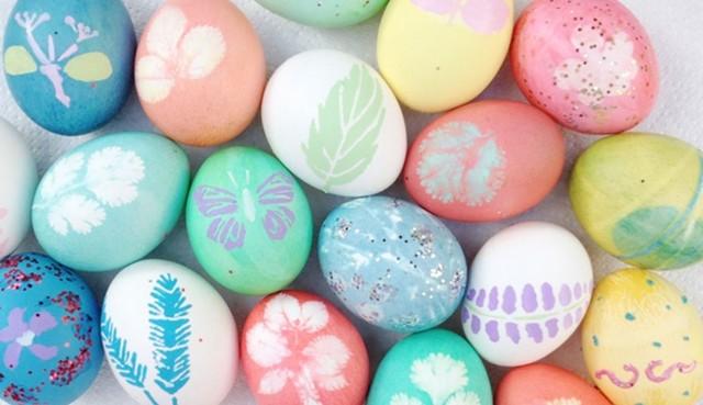 Vadí, když se barva dostane do vajíčka?