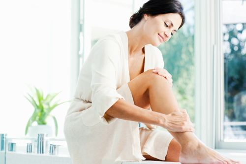 Oteklá noha či nohy ukazují na žilní onemocnění