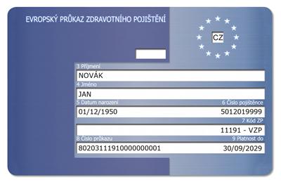 Průkazy pojištěnce VZP se od září 2021mění