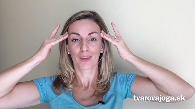 Izojóga učí cviky pro obličej bez vrásek
