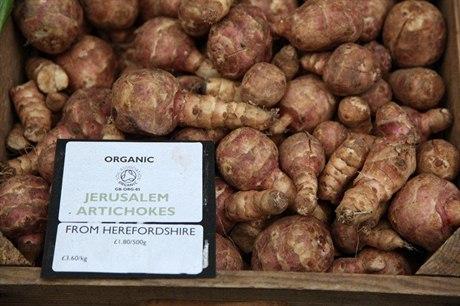 Topinambur– sladší a jemnější než brambory