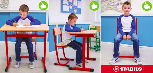Sedíte správně na správné židli?