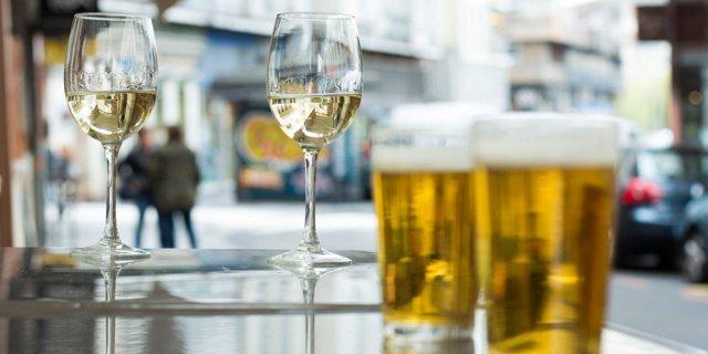 Co je horší: pivo na víno, víno na pivo?