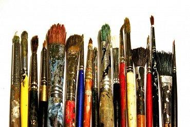 Maluji plátno a zapomínám na svět