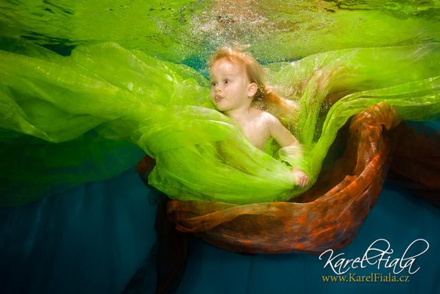 Fotogalerie: Kouzlo těhotenství pod vodou