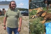 Muže uštkla zmije, skončil v nemocnici ve vážném stavu