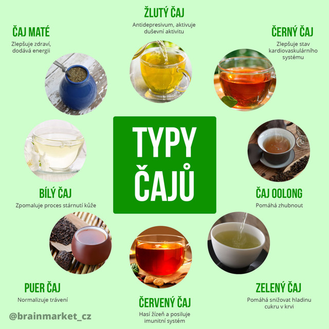 K čemu je nám dobré pití čaje?