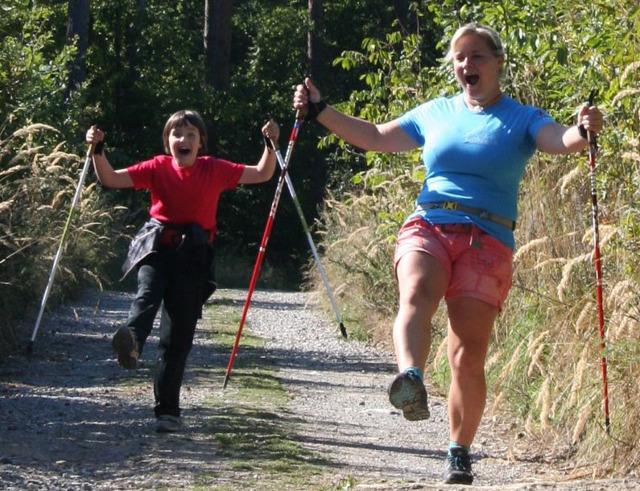 Praha pořádá bezplatné lekce Nordic walking
