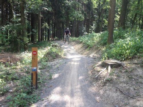 Z Pardubic na kole do Železných hor
