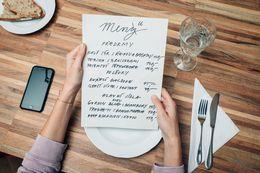 Dlouhý jídelní lístek– špatné znamení