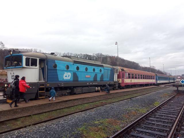 Otestujte se, zda můžete jet vlakem Českých drah