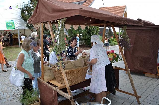 Druhý ročník Čejkovických bylinkových slavností