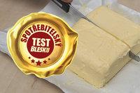 Pětina testovaných másel propadla