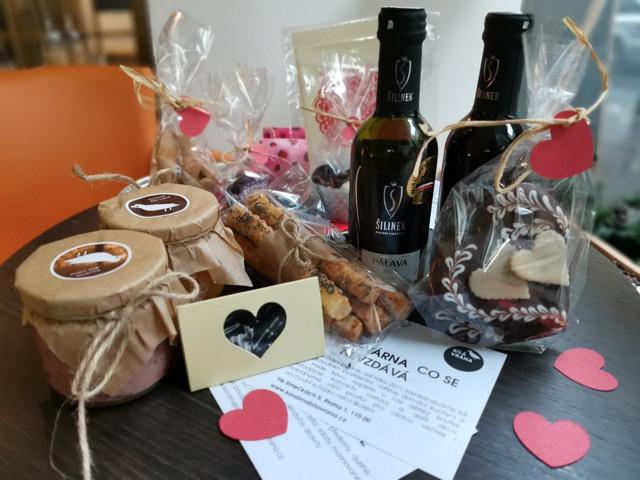 Valentýnský obchod s láskou