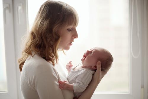 Když kojenec pláče a pláče...