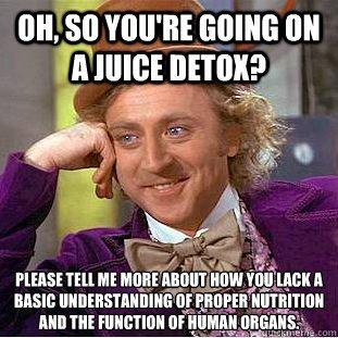 Detoxikujete na jaře tělo nebo se postíte?