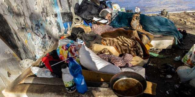 Bezdomovce za sousedy nechceme