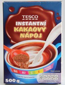 Test kakaa: Důležité informace chybí
