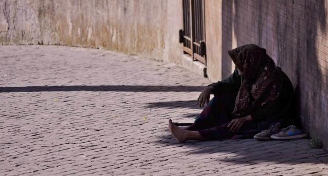 Bezdomovec místo profesionálního průvodce