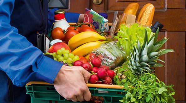 Nakupování potravin na internetu
