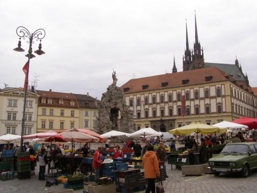 Novinka v Brně - Bystrcké farmářské trhy