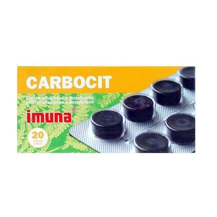 Carbosorb prášek – příbalový leták léku