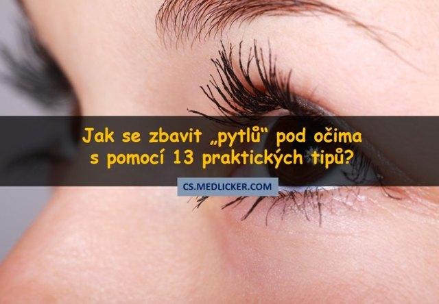 Jak na opuchlé oči, opuchlá víčka a tmavé kruhy pod očima?