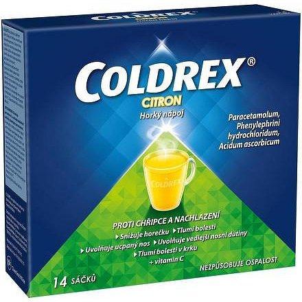 Coldrex proti bolesti v krku citron s medem – příbalový leták