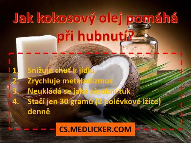 Kokosový olej jako potravina a jídlo – 2 lžíce denně způsobí zázrak