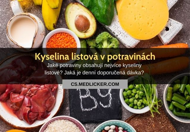 Zdroje kyseliny listové (folátu) v potravě – kde ji najdete?
