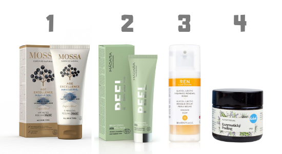 AHA kyseliny (alfa hydroxykyseliny, ovocné kyseliny) v kosmetice – pomohou vaší pleti
