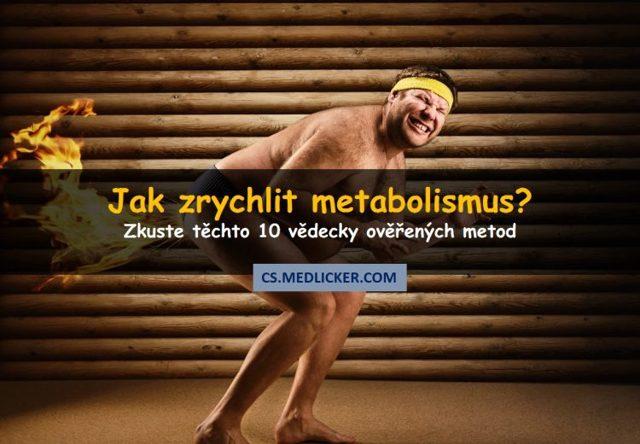 Jak zrychlit metabolismus? Zkuste těchto 10+3 triků – pomohou vám