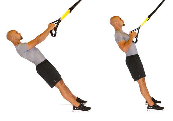Cvičení TRX – procvičte si všechny svaly