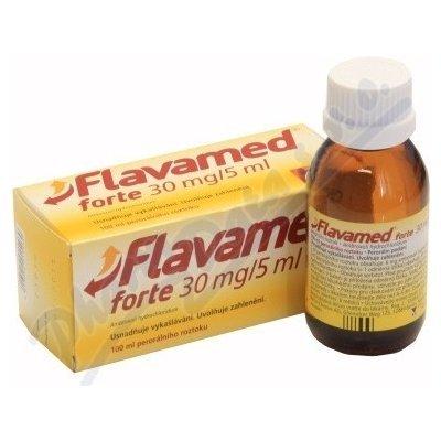 Flavamed tablety – příbalový leták