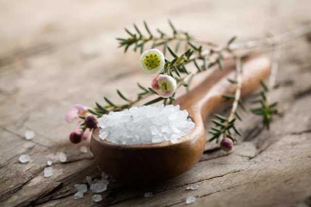 Epsomská sůl je hořká sůl (není to Glauberova sůl) – má léčivé účinky