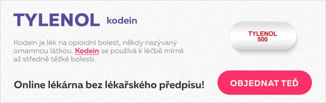 Codein Slovakofarma 30 mg – příbalový leták